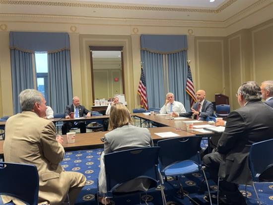 rep carter weekly doc caucus meeting pic thursday