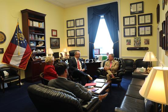 Meeting with National Customs Brokers, Freight Forwarders Association of America 9.21