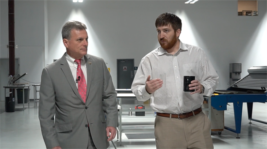 VIDEO: Rep  Carter Hears the Benefits of Tax Reform for Nine Line